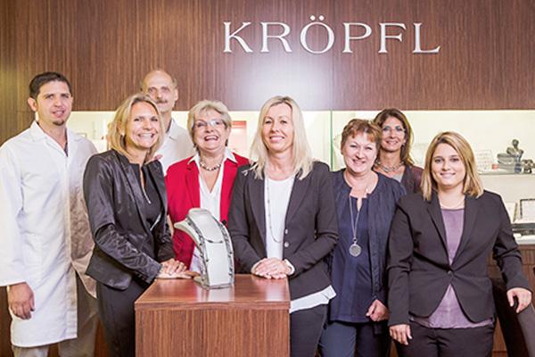 Team Juwelier Kröpfl in Eisenstadt, Mattersburg & Oberwart