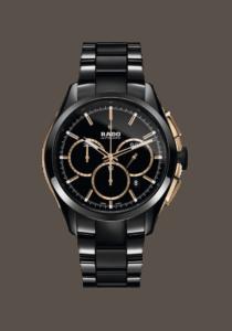 Rado, 65002673015, Hyperchrome, Chronograph, Automatik, Hightech-Keramik, schwarz,