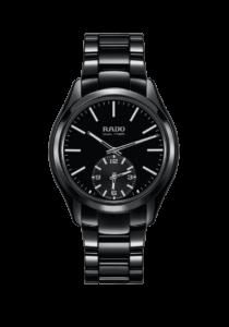 Rado, HyperChrome, Touch Dual Timer, Quarz, Hichtech-Keramik, schwarz