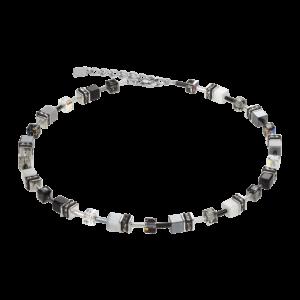Coeur de Lion Collier Geo Cube 4014/10-1412 bei Juwelier Kröpfl